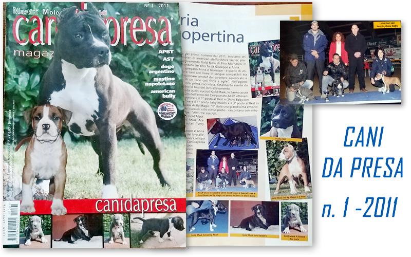 Rivista Cani da Presa n.1-2011