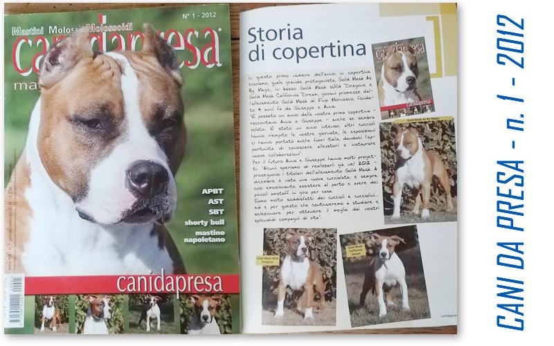 Rivista Cani da Presa n.1-2012